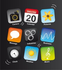 icons vibrant