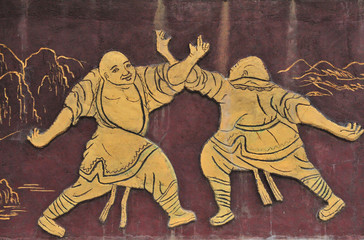 Old Monk shaolin