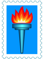 Torch stamp