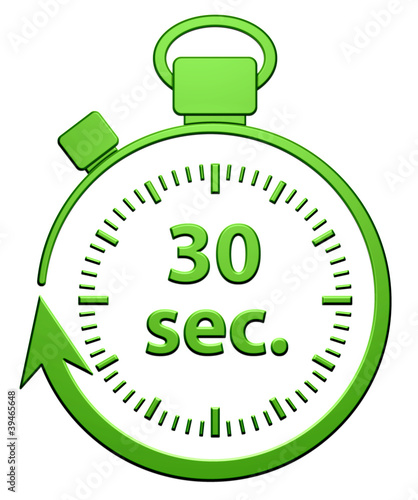 30 secondes chrono - 1 8