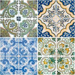 Acrylic Prints Moroccan Tiles Vintage ceramic tiles