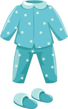 pajamas with slipper