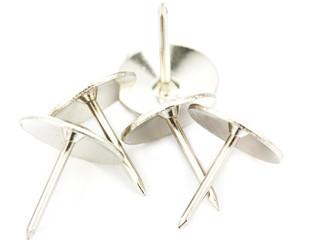 close up metal pushpin