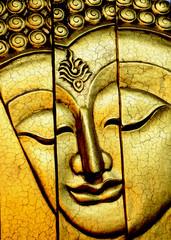 Traditional Thai style Golden Buddha
