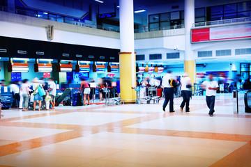 Fotobehang Apotheek Airport interior