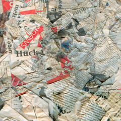 Abstract newspaper texture