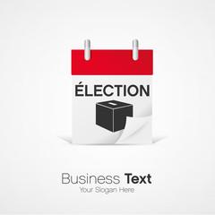 vecteur, calendrier élection