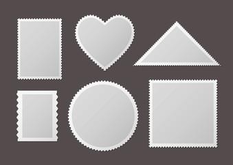 Différentes formes de timbres