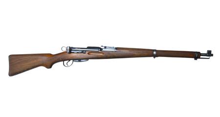 vintage swiss rifle