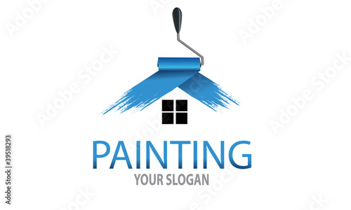 painting logo stock image and royalty free vector files on fotolia