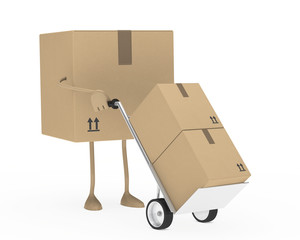 package hand truck