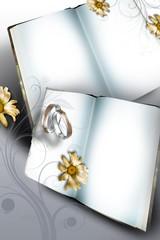 Wedding card - Silver Wedding - Golden Wedding