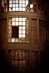 Old industrial building vintage photo