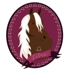 Horse zodica - Libra