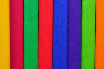 Tło z rulonów bibuły kolorowe