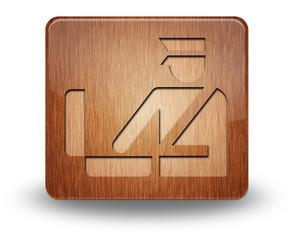 "Wooden Icon ""Customs Symbol"""