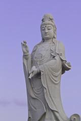 Kwan im chinese goddess statue
