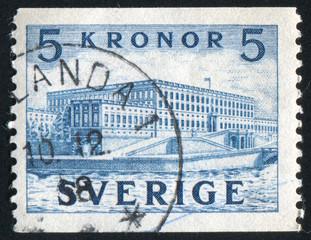 Palace at Stockholm
