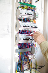 électricité - montage de tableau