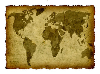 High resolution old map background