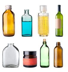 Old bottles.
