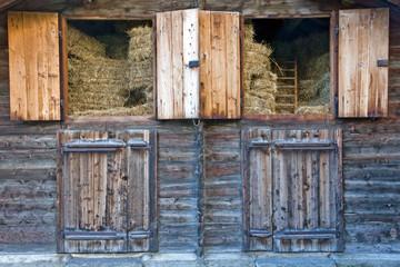 A barn full of straw