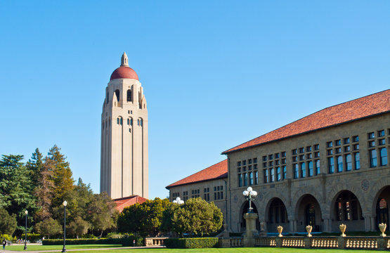 Stanford university tower