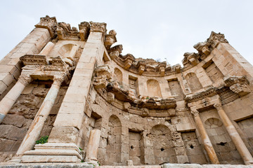 Artemis temple in ancient town Jerash