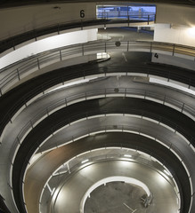 Multi-storey automobile parking