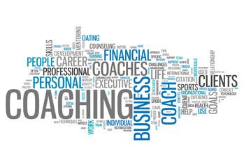 """Word Cloud """"Coaching"""""""