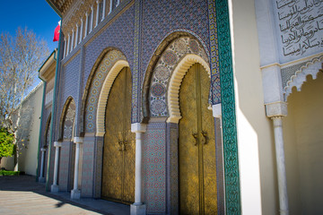The Dar el Makhzen (3) - The Royal Palace at Fes, Morocco