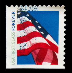 UNITED STATES OF AMERICA - CIRCA 2011: A stamp printed in USA, s