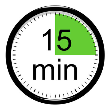 Minuterie - 15 minutes