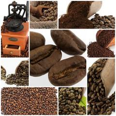 Aluminium Prints Coffee beans café