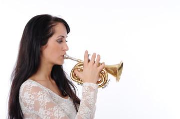 Trompeterin