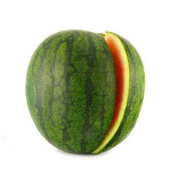watermelon isolated on whiite background
