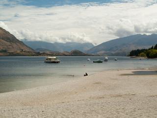 Plage du lac de Wanaka