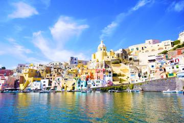 Acrylic Prints Napels Procida, Isola nel mar mediterraneo, Napoli