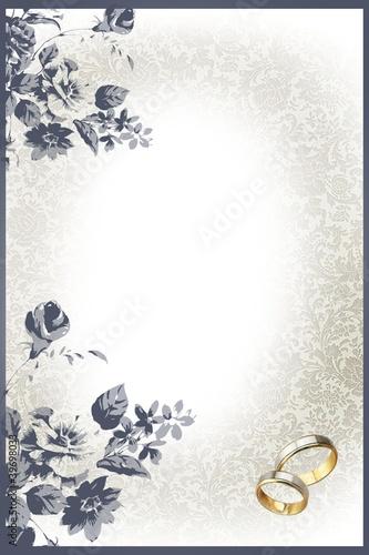 Hintergrund Hochzeit Hochzeitskarte Silberhochzeit Stock Photo And