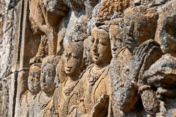 Borobudur Faces