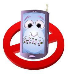 turn of yaur hand phone