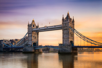 Canvas Print - Tower Bridge Londres Angleterre