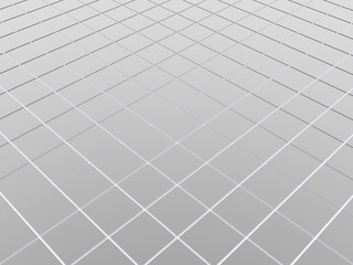 3d abstract background metal floor
