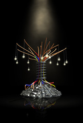 Industrial Future Tree