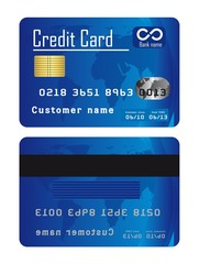 blue credit cards