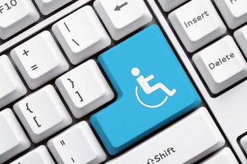 Symbol Rollstuhl