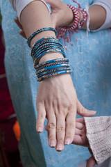 Indian women hands