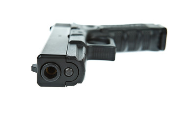 Airsoft hand gun, glock model