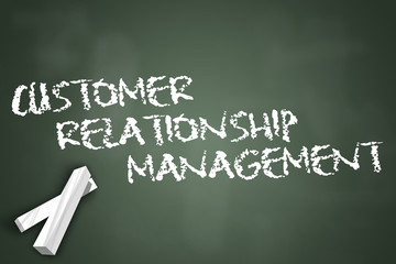 "Chalkboard ""Customer Relationship Management"""