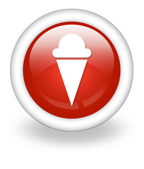 "Light Red Icon ""Ice Cream"""